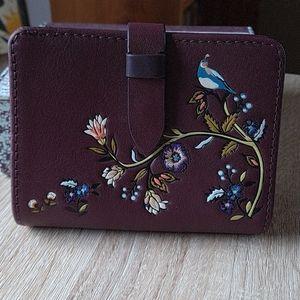 NWOT Vera Bradley leather wallet